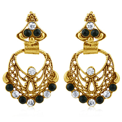 Sukkhi Exotic Gold Plated Dangle Earring For Women