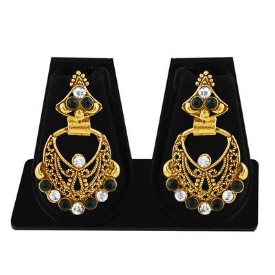 Sukkhi Exotic Gold Plated Dangle Earring For Women-1