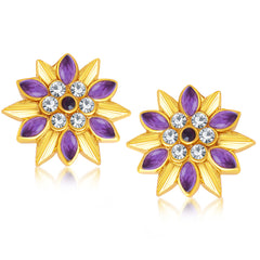 Sukkhi Magnificent Gold Plated Stud Earring For Women