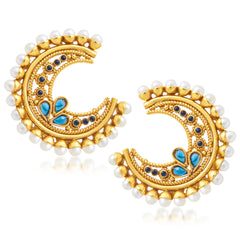Sukkhi Trendy Gold Plated Stud Earring For Women
