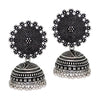 Sukkhi Classic Oxidised Filigree Jhumkis Earring for women