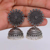 Sukkhi Classic Oxidised Filigree Jhumkis Earring for women - Title