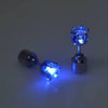 Sukkhi Astonish Round Shaped Blue LED Colorful Party Dance Unisex Stud Earring