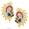 Sukkhi Marvellous Peacock Shape Gold Plated Earring for women