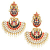 Sukkhi Fancy Gold Plated Chandbali Earring For Women