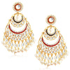 Sukkhi Ravishing Kundan embellished dangler earring For Women