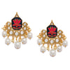 Sukkhi Marvellous Gold Plated Lotus Earring for Women