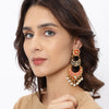 Sukkhi Attractive Gold Plated Pearl Earring for Women