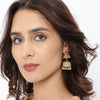 Sukkhi Glamorous Mint Collection Gold Plated Jhumki Earring for Women