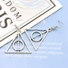 Sukkhi Intricately Triangle Rhodium Plated Earring for Women