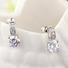 Sukkhi Exquisite Cubic Zirconia Rhodium Plated Earring for Women