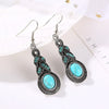 Sukkhi Modern Tribal Artificial Stone Rhodium Plated Earring for Women