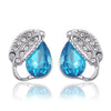 Sukkhi Eye-catchy Crystal Rhodium Plated Earring for Women
