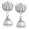Sukkhi Lavish Oxidised Lotus Jhumki Earring For Women