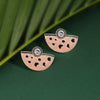 Sukkhi Splendid Oxidised Mint Collection Stud Earring For Women