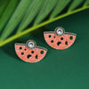 Sukkhi Delightful Oxidised Mint Collection Stud Earring For Women