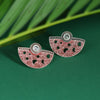 Sukkhi Delicate Oxidised Mint Collection Stud Earring For Women