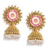 Sukkhi Beguiling Gold Plated Pearl Jhumki Earring for Women