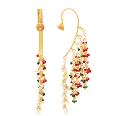 Sukkhi Royal Gold Plated Earcuff Ear-Cuff For Women