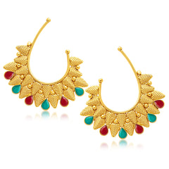 Sukkhi Fashionable Gold Plated Ear-Cuff For Women