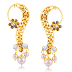 Sukkhi Glimmery Gold Plated Earcuff Ear-Cuff For Women