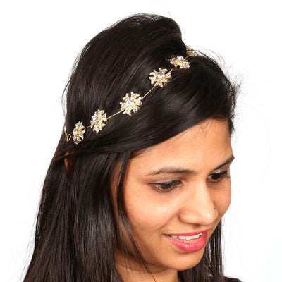 Sukkhi Divine Gold Plated Hair Accessory For Women-1