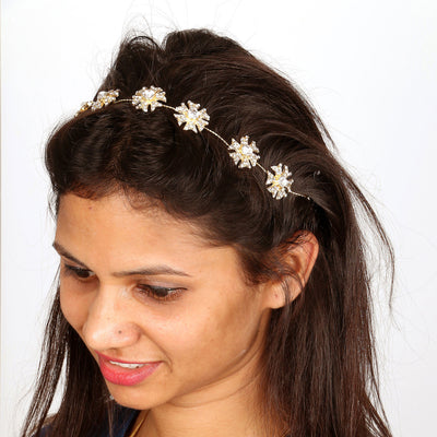 Sukkhi Divine Gold Plated Hair Accessory For Women-2