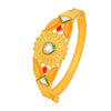 Sukkhi Excellent Gold Plated Leafy Kada for Women