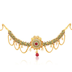 Sukkhi Exotic Peacock Gold Plated KamarBand For Women