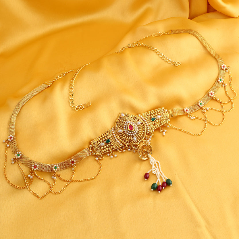 ccd0ad6c2dacb Sukkhi Alluring Gold Plated Kamarband for women - Sukkhi.com