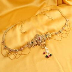 0203 Sukkhi Alluring Gold Plated Kamarband for women