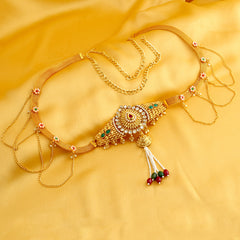 0203 Sukkhi Classy Gold Plated Kamarband for women