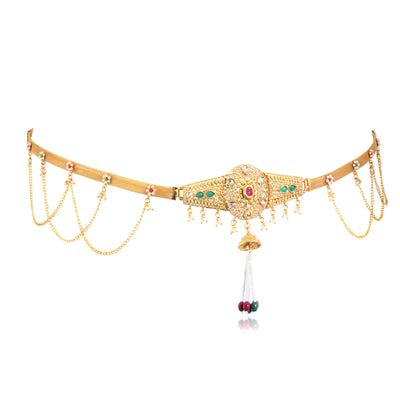 Sukkhi Moddish Gold Plated Kamarband for women - Title