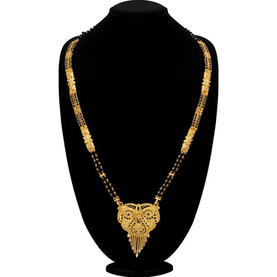 Sukkhi Astonish 24 Carat 1 Gram Gold Jewellery Mangalsutra for women