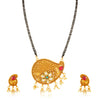 Sukkhi Beguiling Gold Plated Kundan Mangalsutra for Women