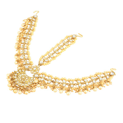 Trushi Ritzy Gold Plated Damini Mathapatthi  for women