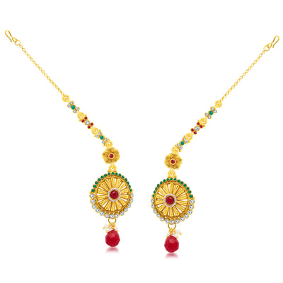 Sukkhi Creative Gold Plated Long Haram Necklace Set For Women-2