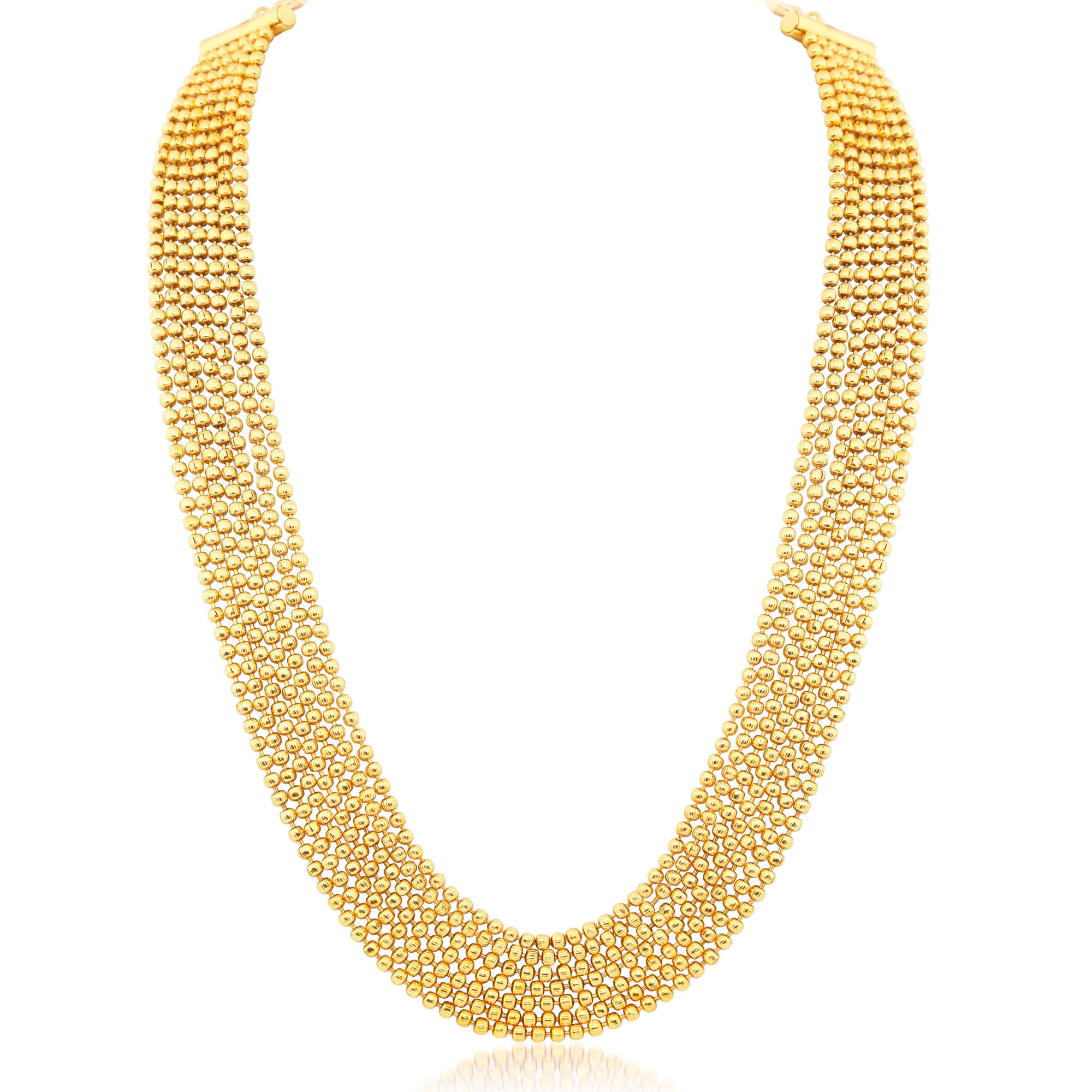 Sukkhi Amazing 7 String Gold Plated Necklace set For Women  sc 1 st  Sukkhi.com & Sukkhi Ritzy 7 String Gold Plated Necklace For Women - Sukkhi.com