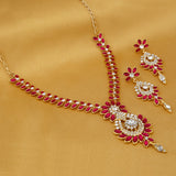 0031 Sukkhi Incredible Gold Plated Collar Necklace set For Women