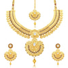 Sukkhi Modish Temple Gold Plated Necklace set For Women-2