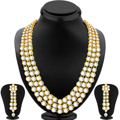 0009 Sukkhi Ritzy Anushka Sharma Bollywood Inspired Kundan Necklace Set For Women
