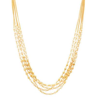 Sukkhi Ritzy Gold Plated Multicolour Necklace Set For Women