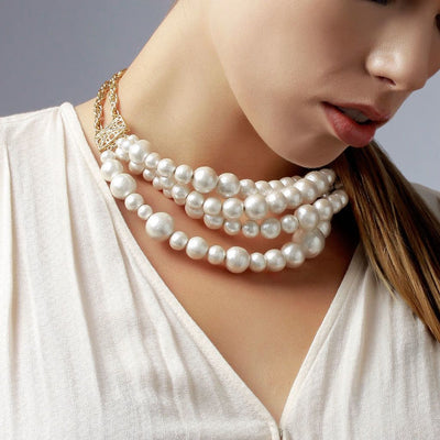 Sukkhi Ritzy Bollywood inspired Pearl Necklace for women
