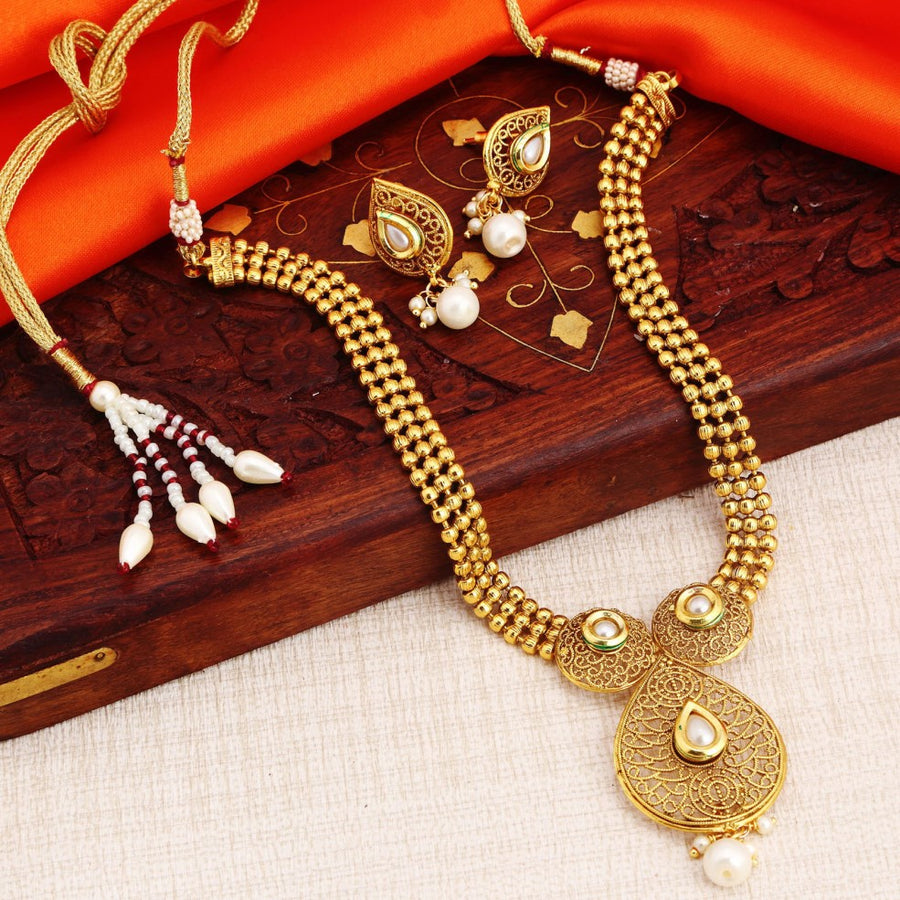 cefa816c8a4e8 Pearl Necklaces -Buy Trendy Collection of Pearl Necklace online ...