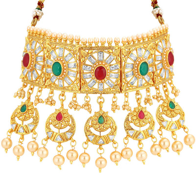 Sukkhi Bollywood Inspired Choker Necklace set for Women