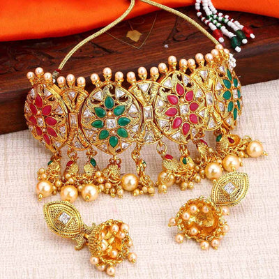 Sukkhi Bollywood Collection Choker necklace set for Women