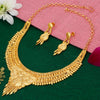 Sukkhi Modern Alloy 24 Carat 1 Gram Gold Jewellery Necklace Set for Women