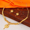 Sukkhi Ritzy Alloy 24 Carat 1 Gram Gold Jewellery Necklace Set for Women
