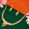 Sukkhi Moddish 24 Carat 1 Gram Gold Jewellery Necklace Set for Women