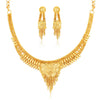 Sukkhi Dazzling 24 Carat 1 Gram Gold Jewellery Necklace Set for Women